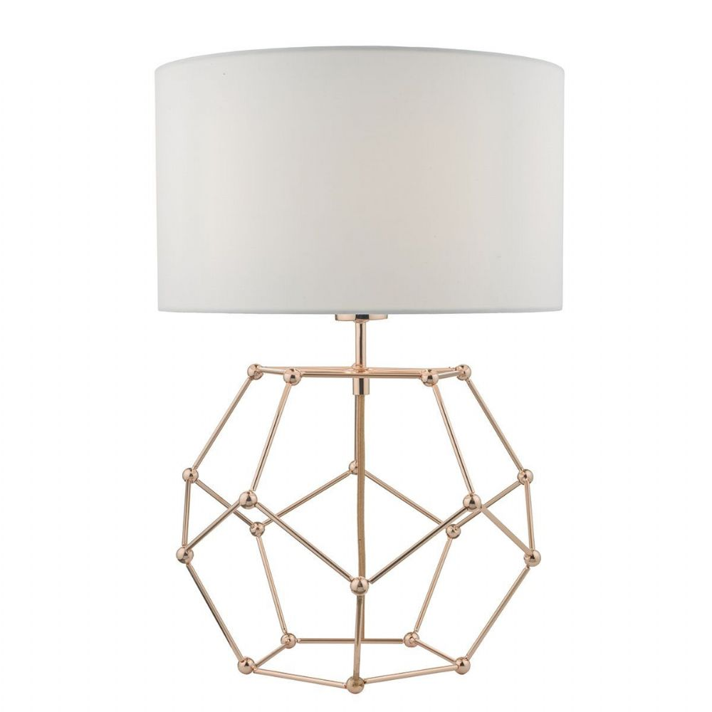 Coen Table Lamp Copper complete with Shade